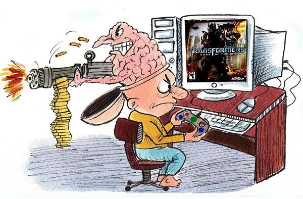 آسیب های بازی های آنلاین