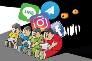 کودکان،شبکه های اجتماعی، آسیب ها و چالش ها