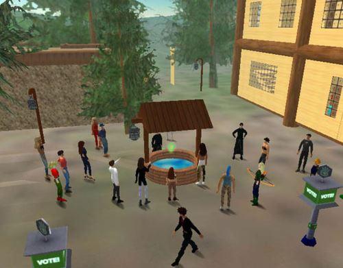 بازی زندگی دوم Second Life